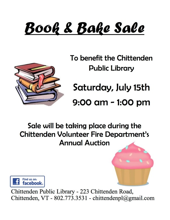 book sale flyer 2017