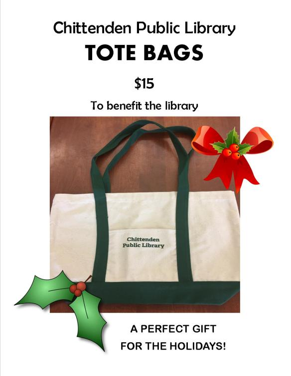 tote bag holiday flyer
