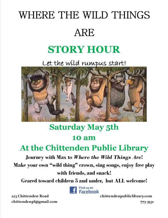wild things story hour