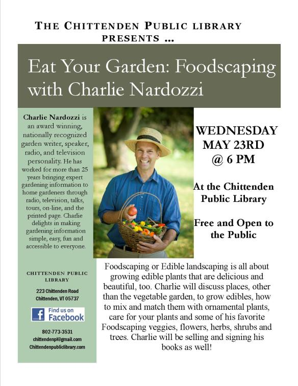 charlie nardozzi flyer