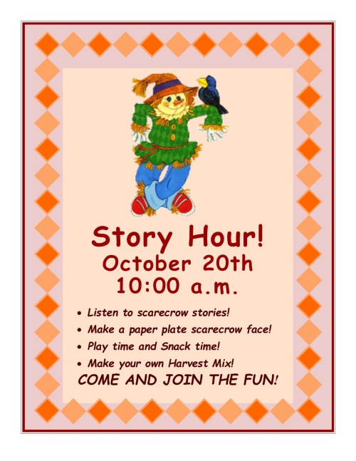 October Story Hour 2018