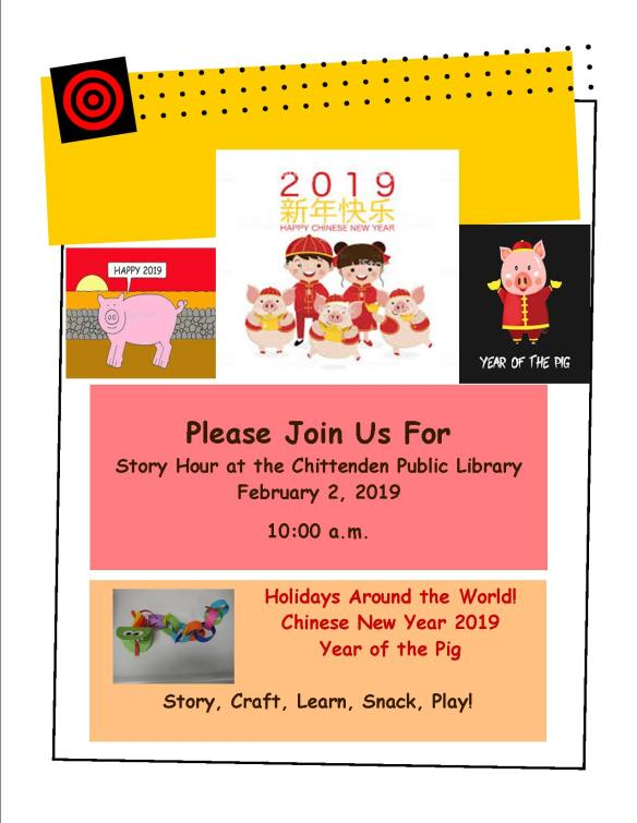 February Story Hour at CPL!