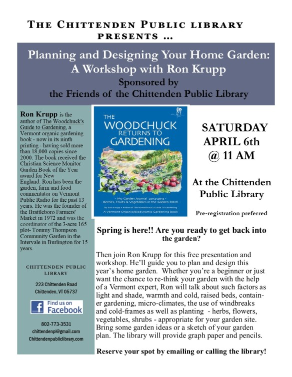 Ron Krupp Garden event