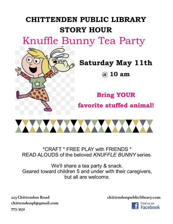 knuffle bunny story hour