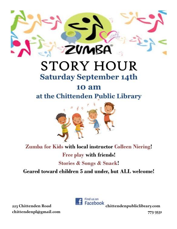 zumba story hour