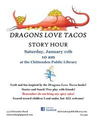 dragons love tacos flyer