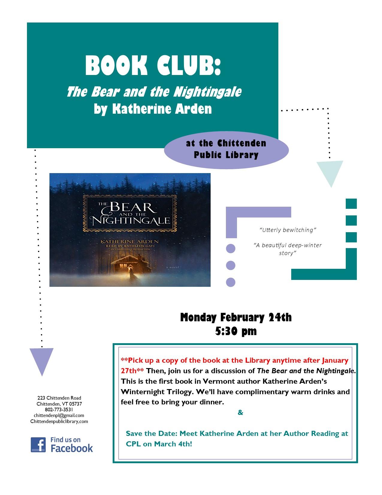 Book Club Feb 2020 Arden