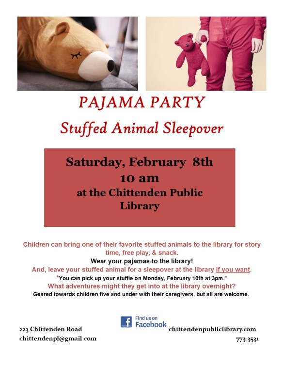 pajama party story hour 2020