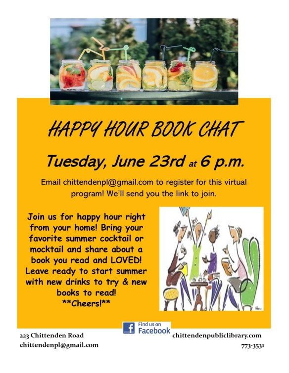happy hour book chat